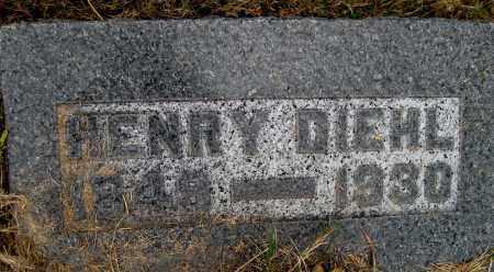 DIEHL, HENRY - Meigs County, Ohio | HENRY DIEHL - Ohio Gravestone Photos