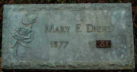 DIEHL, MARY F. - Meigs County, Ohio | MARY F. DIEHL - Ohio Gravestone Photos