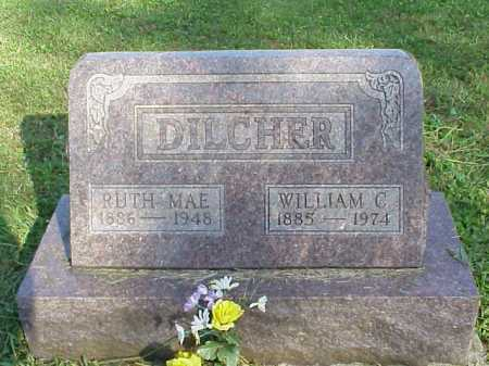 DILCHER, RUTH MAE - Meigs County, Ohio | RUTH MAE DILCHER - Ohio Gravestone Photos
