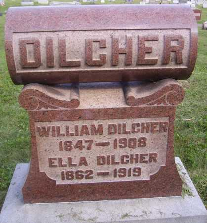 DILCHER, ELLA - Meigs County, Ohio | ELLA DILCHER - Ohio Gravestone Photos