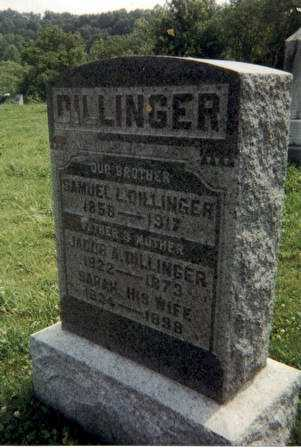 DILLINGER, SAMUEL L. - Meigs County, Ohio | SAMUEL L. DILLINGER - Ohio Gravestone Photos