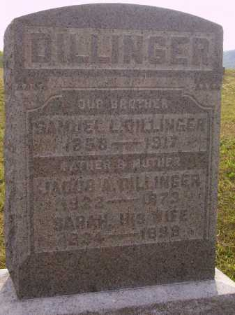 DILLINGER, JACOB A. - Meigs County, Ohio | JACOB A. DILLINGER - Ohio Gravestone Photos