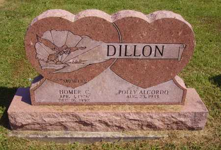 DILLON, HOMER CLAYTON - Meigs County, Ohio | HOMER CLAYTON DILLON - Ohio Gravestone Photos