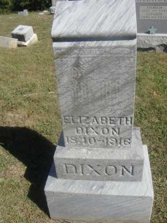 LAKE DIXON, ELIZABETH - Meigs County, Ohio | ELIZABETH LAKE DIXON - Ohio Gravestone Photos