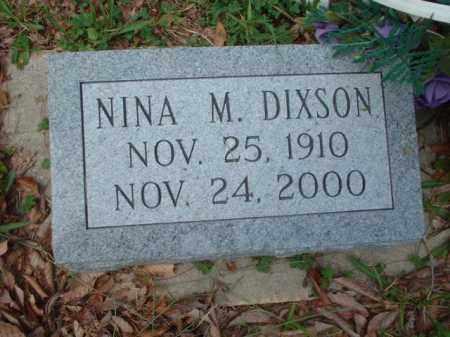 DIXSON, NINA M. - Meigs County, Ohio | NINA M. DIXSON - Ohio Gravestone Photos
