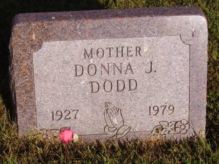 DODD, DONNA J. - Meigs County, Ohio | DONNA J. DODD - Ohio Gravestone Photos