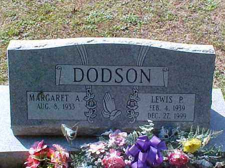 DODSON, MARGARET A. - Meigs County, Ohio | MARGARET A. DODSON - Ohio Gravestone Photos
