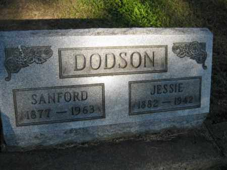 DODSON, SANFORD - Meigs County, Ohio | SANFORD DODSON - Ohio Gravestone Photos