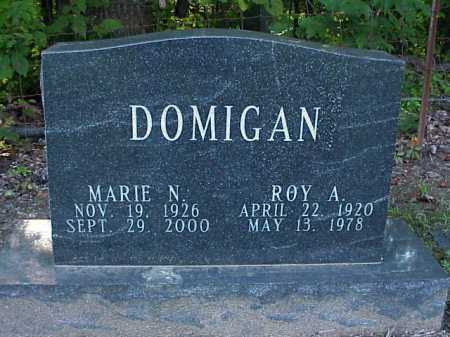 DOMIGAN, MARIE N. - Meigs County, Ohio | MARIE N. DOMIGAN - Ohio Gravestone Photos