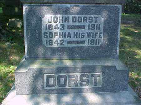 DORST, SOPHIA - Meigs County, Ohio | SOPHIA DORST - Ohio Gravestone Photos