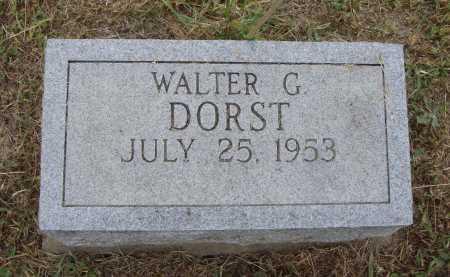 DORST, WALTER G. - Meigs County, Ohio | WALTER G. DORST - Ohio Gravestone Photos