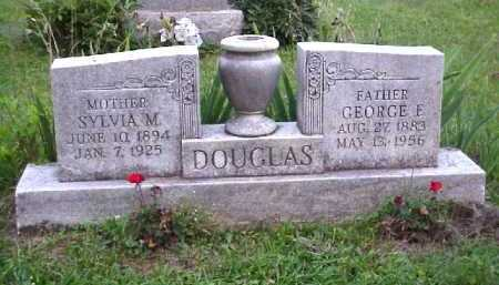 SCOTT DOUGLAS, SYLVIA M. - Meigs County, Ohio | SYLVIA M. SCOTT DOUGLAS - Ohio Gravestone Photos