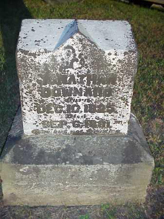 DOWNARD, JONATHAN - Meigs County, Ohio | JONATHAN DOWNARD - Ohio Gravestone Photos