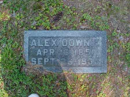 DOWNIE, ALEX - Meigs County, Ohio | ALEX DOWNIE - Ohio Gravestone Photos