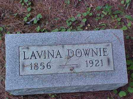 DOWNIE, LAVINA - Meigs County, Ohio | LAVINA DOWNIE - Ohio Gravestone Photos