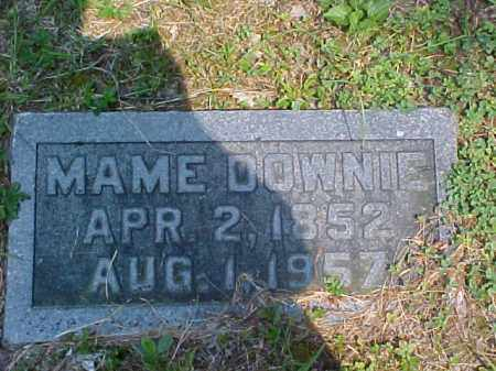 DOWNIE, MAME - Meigs County, Ohio | MAME DOWNIE - Ohio Gravestone Photos
