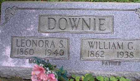 DOWNIE, LEONORA S. - Meigs County, Ohio | LEONORA S. DOWNIE - Ohio Gravestone Photos