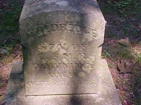 DOWNING, HOLDREDGE - Meigs County, Ohio   HOLDREDGE DOWNING - Ohio Gravestone Photos