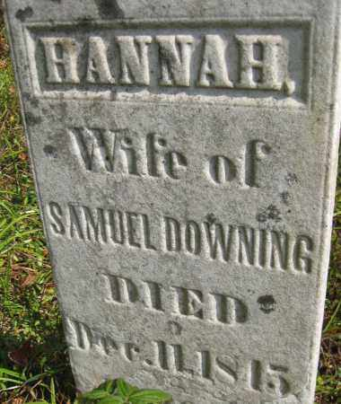 DOWNING, HANNAH - Meigs County, Ohio | HANNAH DOWNING - Ohio Gravestone Photos