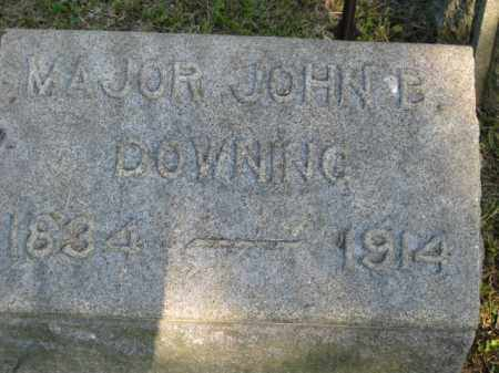 DOWNING, JOHN B - Meigs County, Ohio | JOHN B DOWNING - Ohio Gravestone Photos