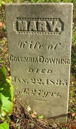 DOWNING, COLUMBIA - Meigs County, Ohio | COLUMBIA DOWNING - Ohio Gravestone Photos