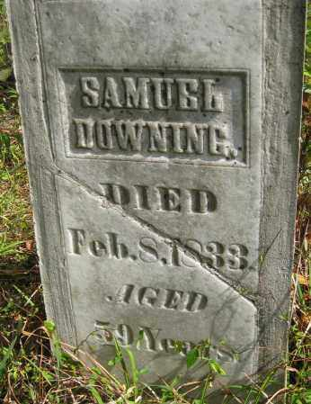 DOWNING, SAMUEL - Meigs County, Ohio | SAMUEL DOWNING - Ohio Gravestone Photos