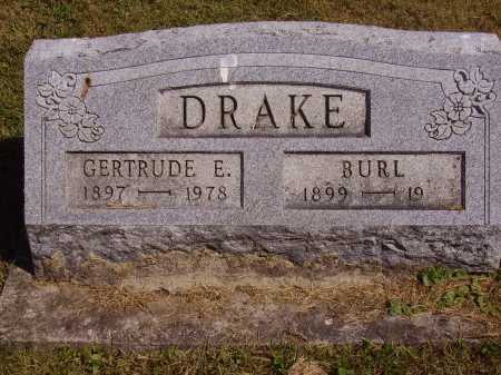 DRAKE, BURL - Meigs County, Ohio | BURL DRAKE - Ohio Gravestone Photos