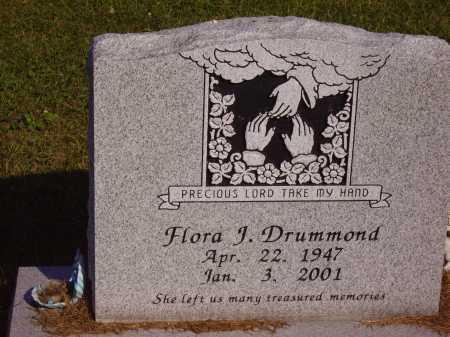 DRUMMOND, FLORA J. - Meigs County, Ohio | FLORA J. DRUMMOND - Ohio Gravestone Photos