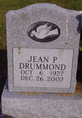 DRUMMOND, JEAN P. - Meigs County, Ohio | JEAN P. DRUMMOND - Ohio Gravestone Photos