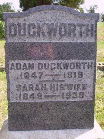 DUCKWORTH, ADAM - Meigs County, Ohio | ADAM DUCKWORTH - Ohio Gravestone Photos