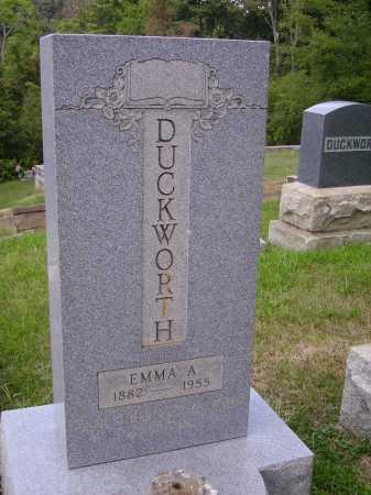 DUCKWORTH, EMMA - VIEW #2 - Meigs County, Ohio | EMMA - VIEW #2 DUCKWORTH - Ohio Gravestone Photos