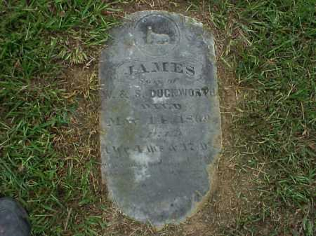 DUCKWORTH, JAMES - Meigs County, Ohio | JAMES DUCKWORTH - Ohio Gravestone Photos