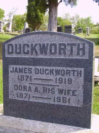 JENKINS DUCKWORTH, DORA A. - Meigs County, Ohio | DORA A. JENKINS DUCKWORTH - Ohio Gravestone Photos