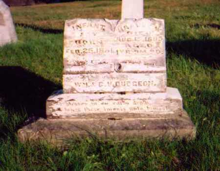 DUDGEON, INFANT SON - Meigs County, Ohio | INFANT SON DUDGEON - Ohio Gravestone Photos