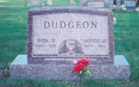 NICHOLS DUDGEON, MINA M. - Meigs County, Ohio | MINA M. NICHOLS DUDGEON - Ohio Gravestone Photos