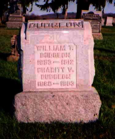 DUDGEON, CHARITY V. - Meigs County, Ohio | CHARITY V. DUDGEON - Ohio Gravestone Photos