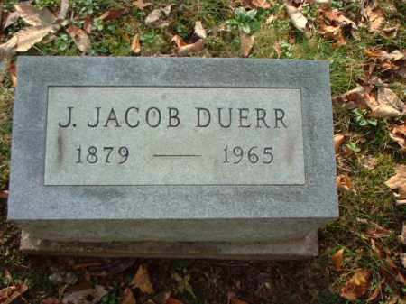 DUERR, J. JACOB - Meigs County, Ohio | J. JACOB DUERR - Ohio Gravestone Photos