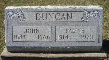 DUNCAN, JOHN - Meigs County, Ohio | JOHN DUNCAN - Ohio Gravestone Photos