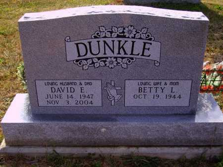 DUNKLE, BETTY L. - Meigs County, Ohio | BETTY L. DUNKLE - Ohio Gravestone Photos
