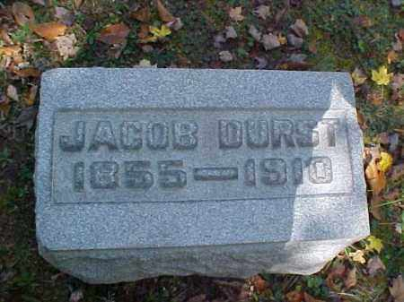 DURST, JACOB - Meigs County, Ohio | JACOB DURST - Ohio Gravestone Photos