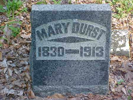 DURST, MARY - Meigs County, Ohio | MARY DURST - Ohio Gravestone Photos