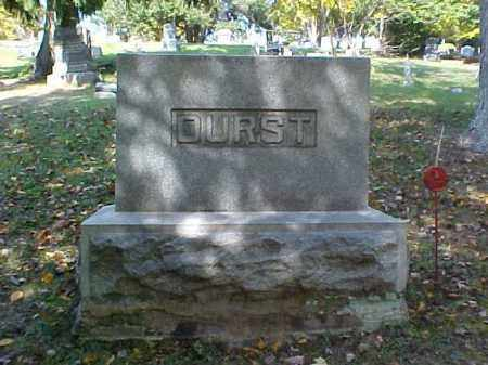 DURST, MONUMENT - Meigs County, Ohio | MONUMENT DURST - Ohio Gravestone Photos