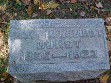 MEINHARDT DURST, MARY - Meigs County, Ohio | MARY MEINHARDT DURST - Ohio Gravestone Photos