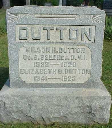DUTTON, ELIZABETH S. - Meigs County, Ohio | ELIZABETH S. DUTTON - Ohio Gravestone Photos