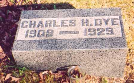 DYE, CHARLES H. - Meigs County, Ohio | CHARLES H. DYE - Ohio Gravestone Photos