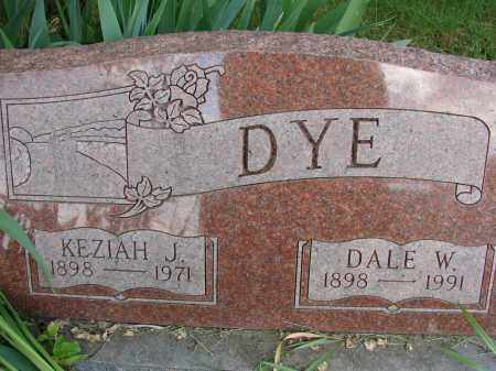 DYE, DALE W - Meigs County, Ohio | DALE W DYE - Ohio Gravestone Photos
