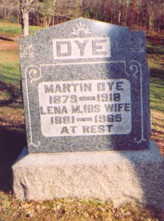 MUSSER DYE, LENA M. - Meigs County, Ohio | LENA M. MUSSER DYE - Ohio Gravestone Photos