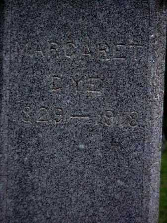 DYE, MARGARET - Meigs County, Ohio | MARGARET DYE - Ohio Gravestone Photos