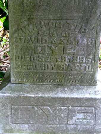 """DYE, W. H. """"TIP"""" - Meigs County, Ohio   W. H. """"TIP"""" DYE - Ohio Gravestone Photos"""