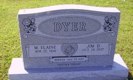 DYER, M. ELAINE - Meigs County, Ohio | M. ELAINE DYER - Ohio Gravestone Photos